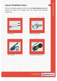 Manual Strapping Tools(Tensioner & Crimper)
