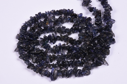 Iolite Uncut Chips Beads