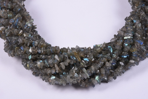 Labradorite Uncut Chips Raw Beads