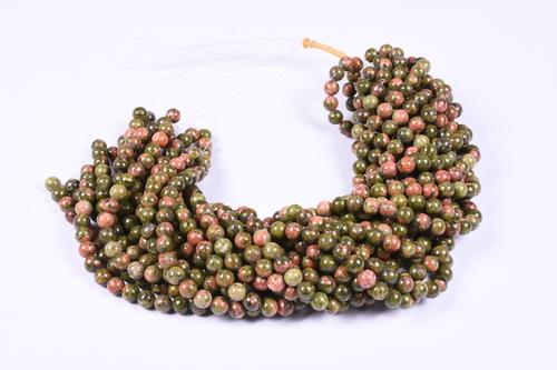 Unakaite Beads