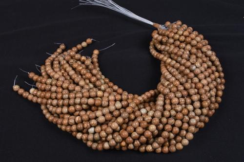 Wood jasper Beads