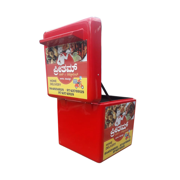 1818 REGULAR NON LED DELIVERY BOX TOP OPENING
