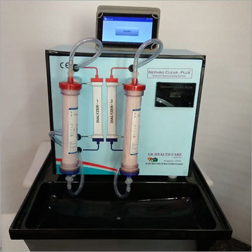 Double Station Dialyzer Reprocessing Machine