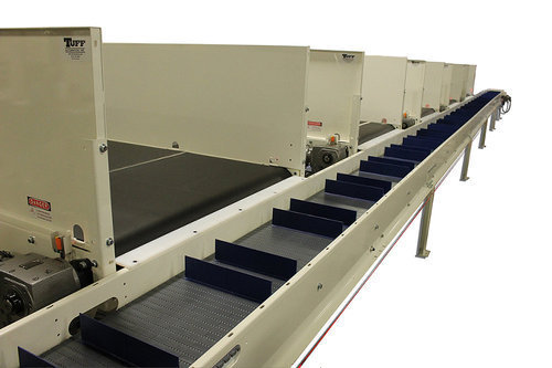 Cleated Belt Packaging Conveyor