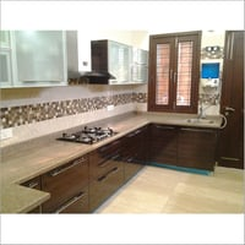 U Shaped Modular Kitchen