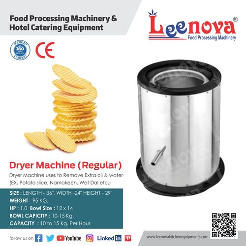 Potato Chip Dryer Machine