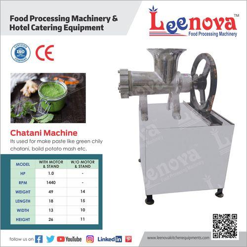 Chatni Making Machine