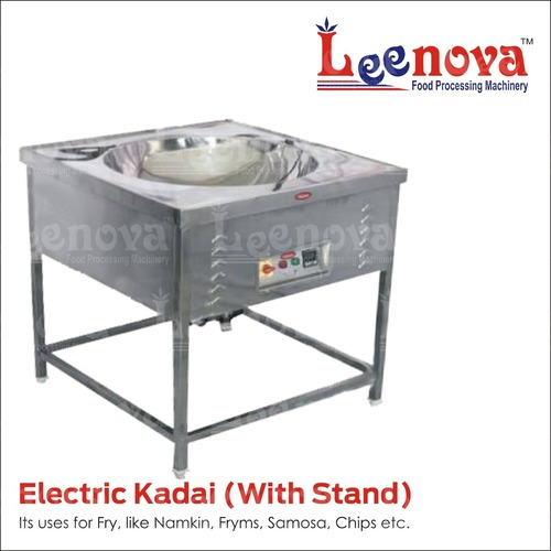 Leenova Electric Kadai With Stand