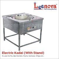 Leenova Electric Kadai With Stand