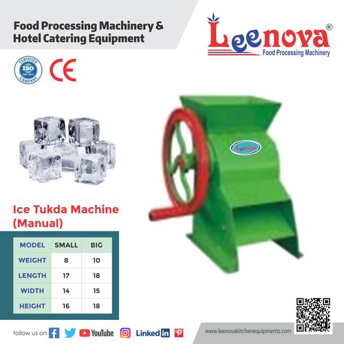 Manual Ice Machine