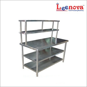 Kitchen Steel Pick-Up Service Table