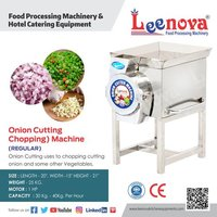 Onion Cutter Machine