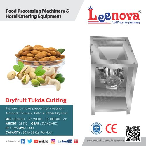 Dryfruit Cutter Machine