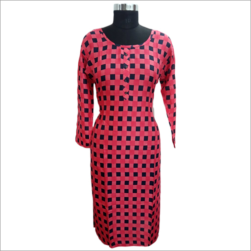 Cotton Designer Ladies Kurti
