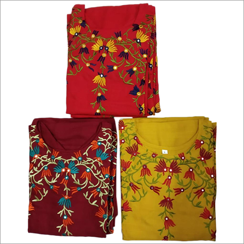 Embroidery Ladies Kurti