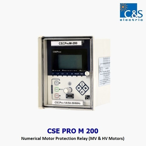 HT Motor Protection Relay  CSE PRO M 200