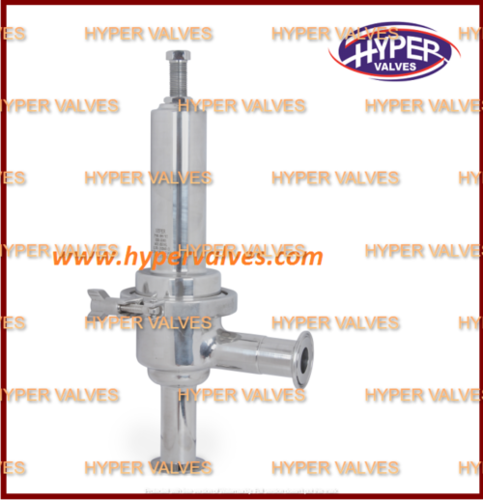 Clean Steam Pressure Reducing Valve