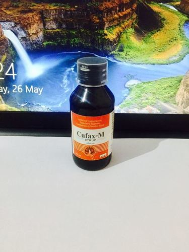 Terbutaline 1.25 mg + Bromhexine 2mg + Guaiphenesin 50 mg & menthol 1 mg