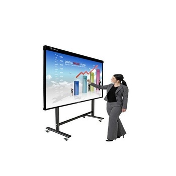 55 inch touch screen monitor interactive screen whiteboard computer with school teaching application