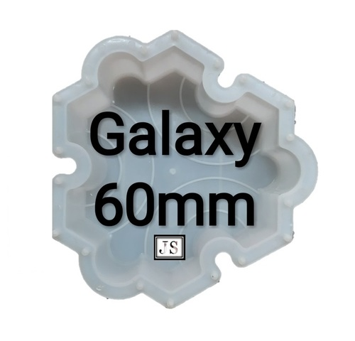 Galaxy Silicone Plastic Interlocking Moulds