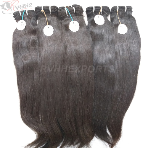 100 Human Hair Extension Bundles With 9a Grade Straight Peruvian Hair