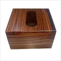 Wooden Designer Tissue Holder