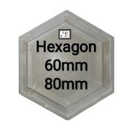 Hexagon Silicone Plastic Paver Mould