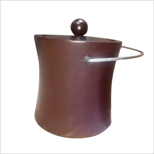 Wooden Brown Ice Bucket