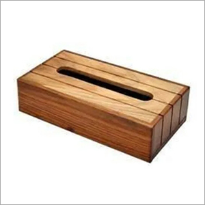 Small Wooden Tissue Holder