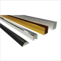 Aluminum profile for shower doors