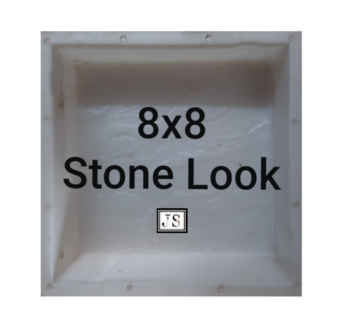 Stone Look Silicone Plastic Paver Mould