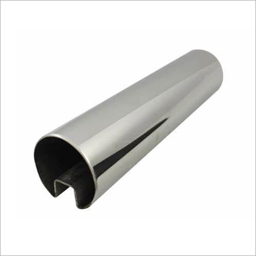 Stainless Steel Top Rail Slot Pipe