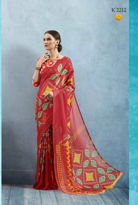Designer Casual wear saree