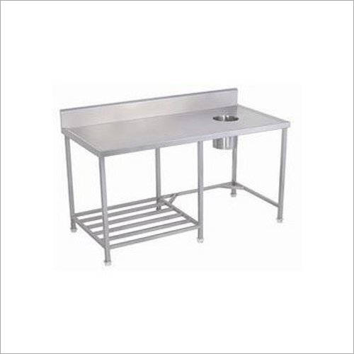 Steel Dish Landing Table