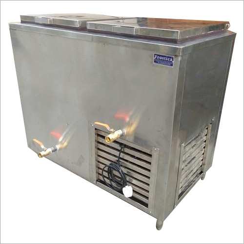 Double Door Milk Deep Freezer
