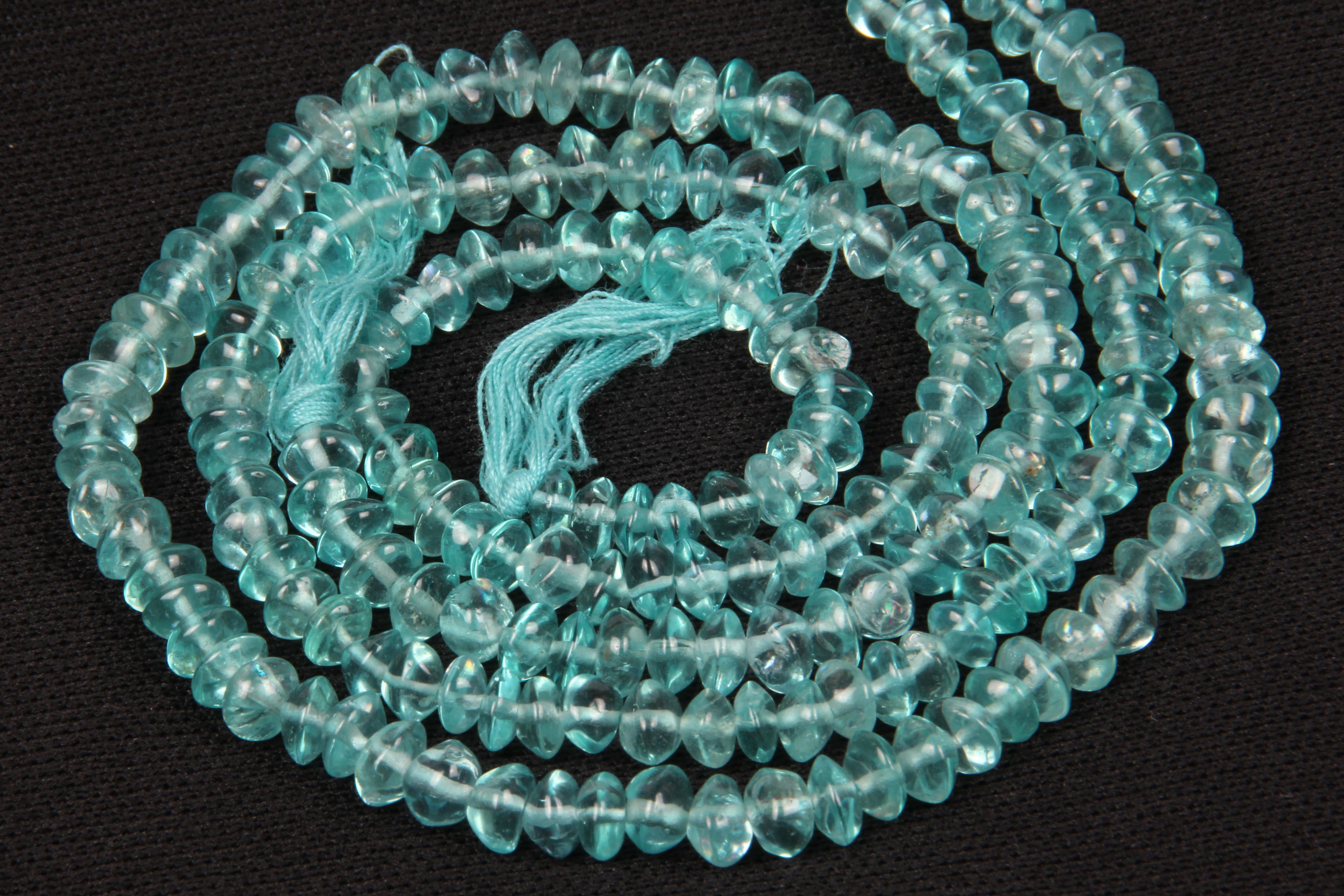 Apatite Button Beads