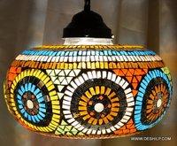 Big Mosaic Glass Wall Hanging