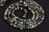 Cat's Eye Roundel Beads