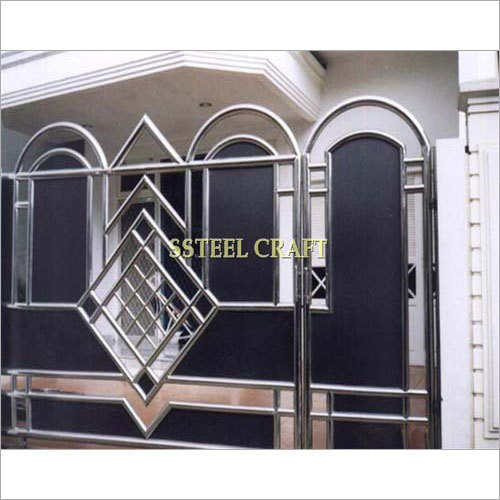 Stainless Steel Black Gate