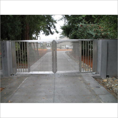 Stainless Steel Modern Gates