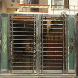 Modern Stainless Steel Gates