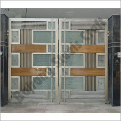 Block Design Stainless Steel Gates