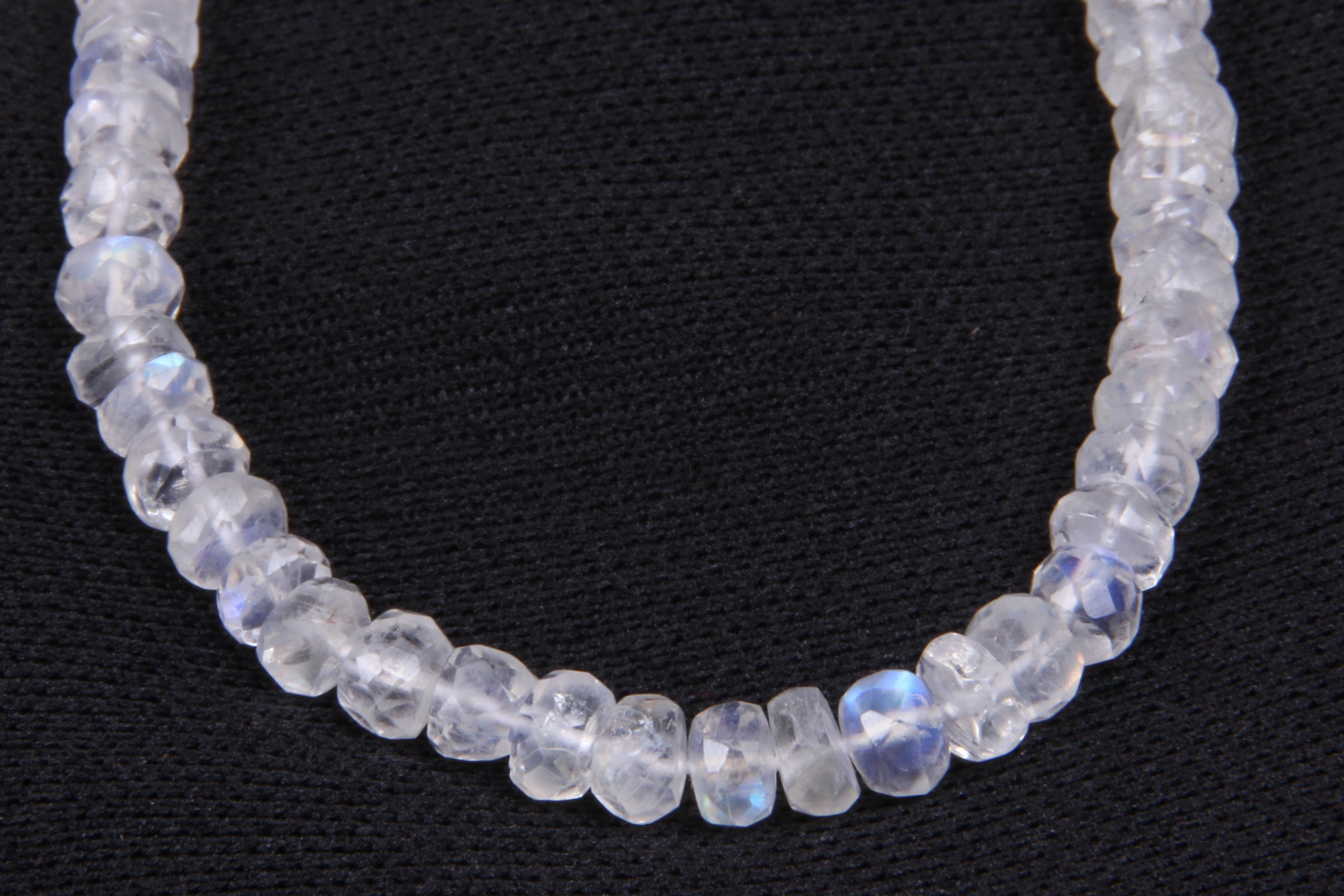 Rainbow Moonstone Beads
