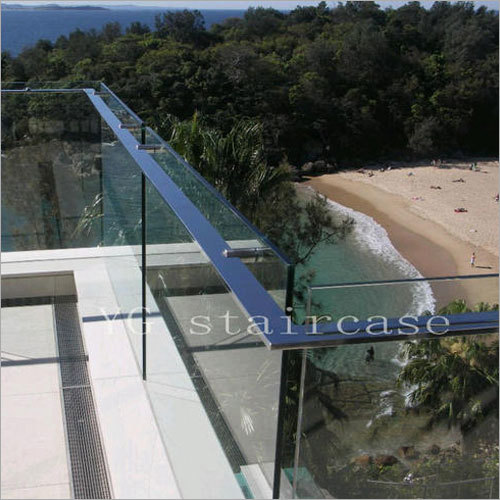 SS Glass Railings