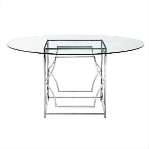 Glass Canteen Table