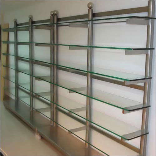SS Glass Cloth Rack