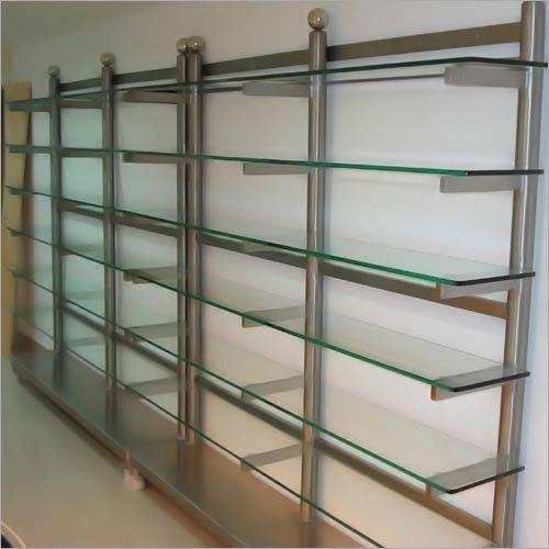 SS Glass Cloth Rack