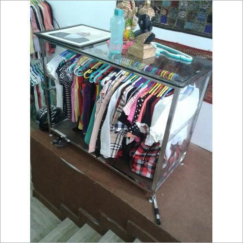 Stainless Steel Folding Clothes Rack
