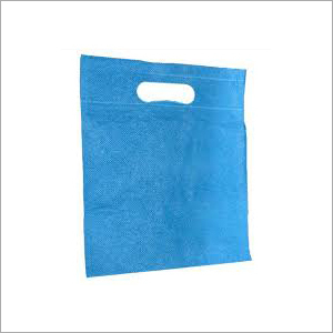 D Cut Non Blue  Woven Bag