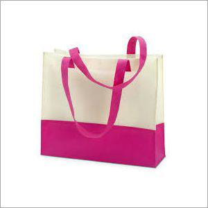 Non Woven Pink  Shopping Bag